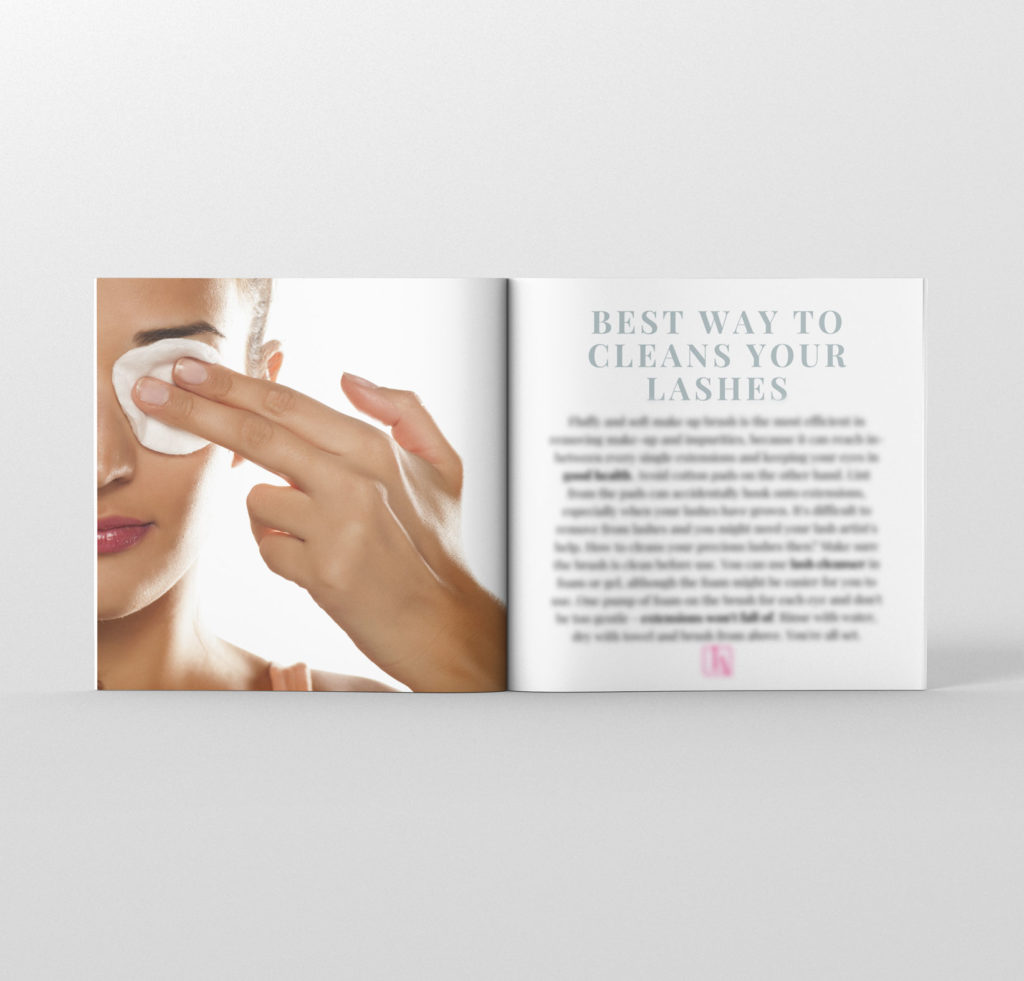 aftercare booklet